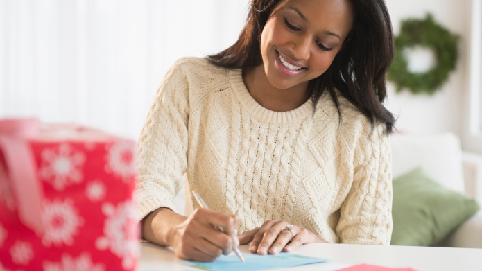 How to write a holiday letter