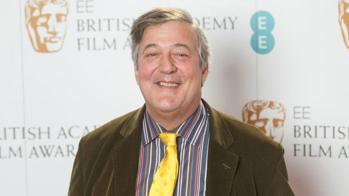 Stephen Fry talking about God is