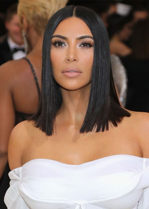 Dramatic Celebrity Hair Makeovers | Before: Kim Kardashian West