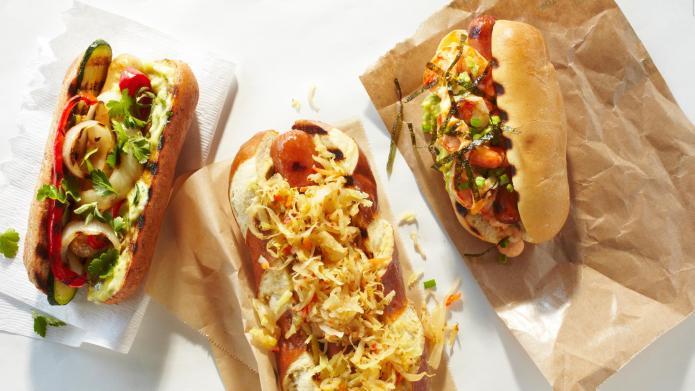 Hot dogs go gourmet