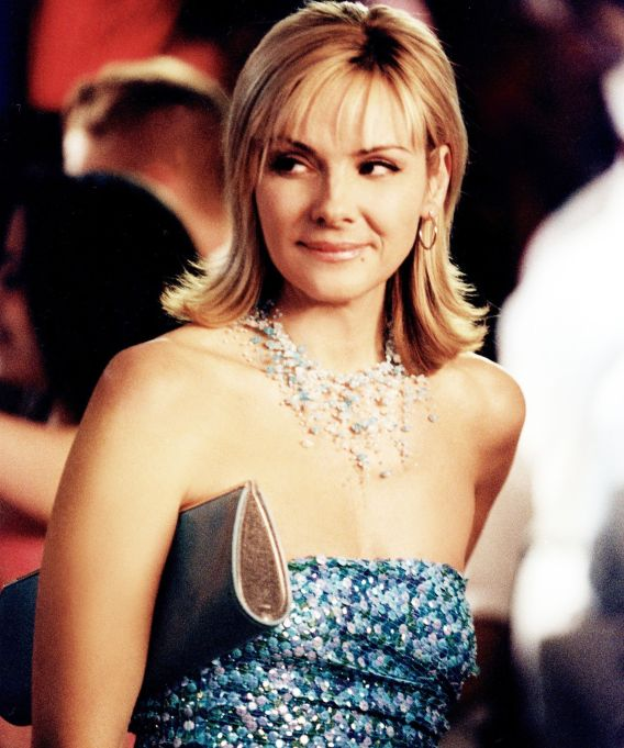 Kim Cattrall as Samantha Jones on Sex and the City