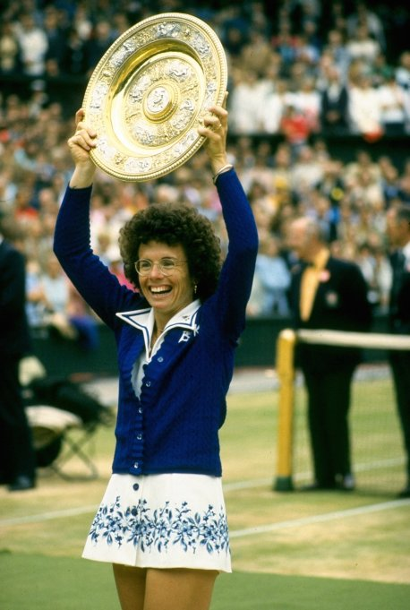 Billie Jean King Wimbledon 1975
