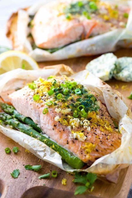 One-pot summer meals | Salmon en papillote