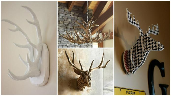 How to decorate with antlers and