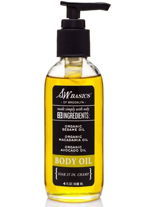 Body Oils To Layer Over Your Lotion: SW Basics Body Oil | Fall Skin Care