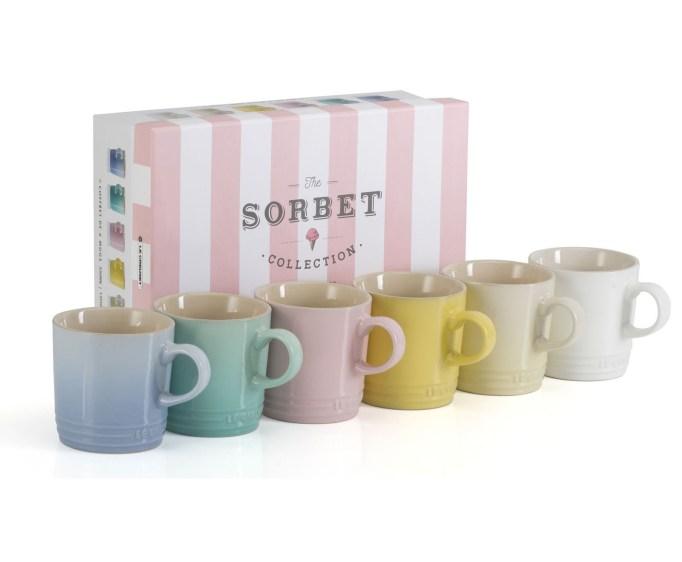 Set of 6 Sorbet Collection Mugs