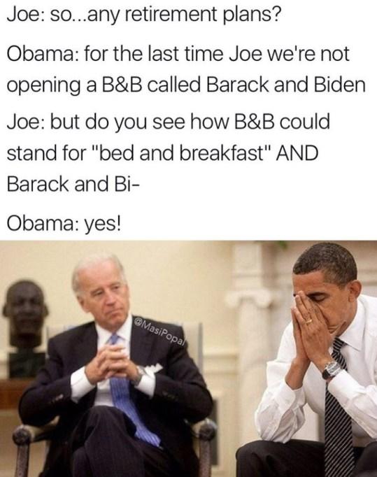 Joe Biden Obama meme