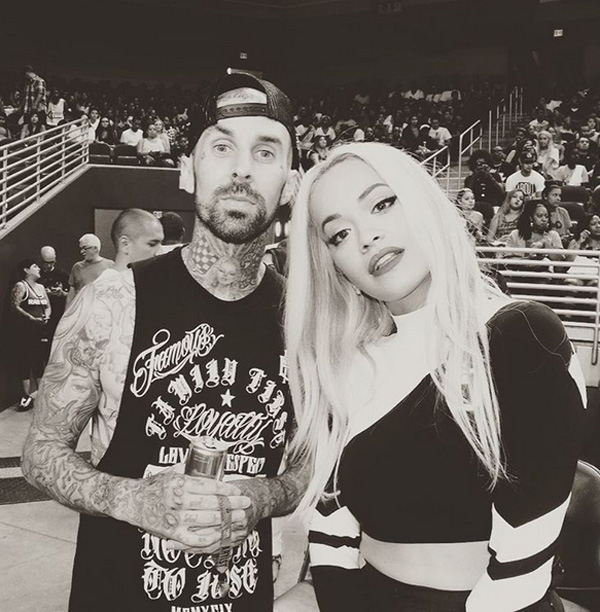 Travis Barker and Rita Ora dating