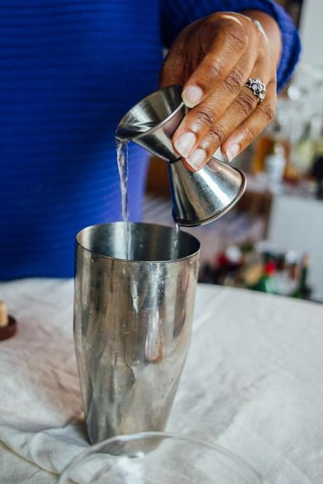 Pouring Mezcal