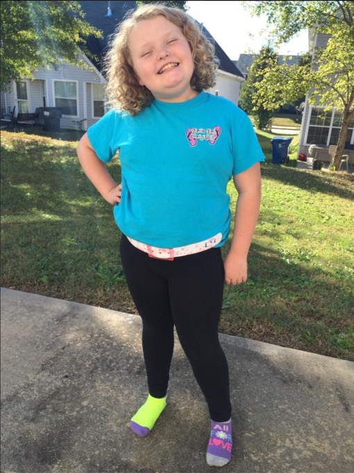 Honey Boo Boo raising money for Breast Cancer Awareness in October 2015