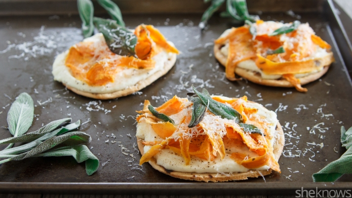 Meatless Monday: Mini sweet potato-goat cheese