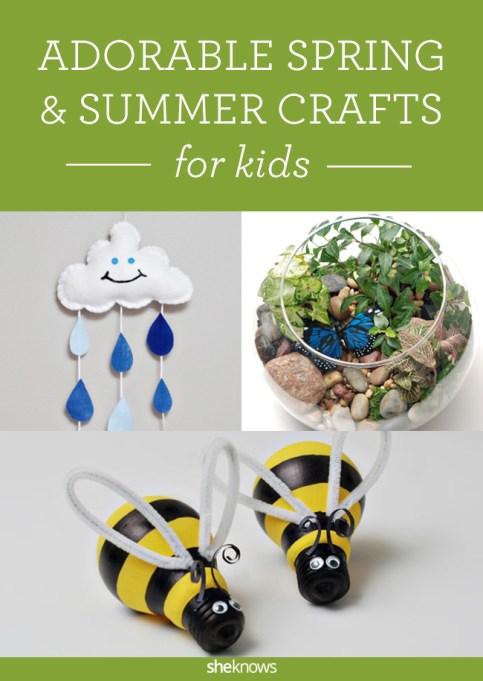 Garden crafts pin