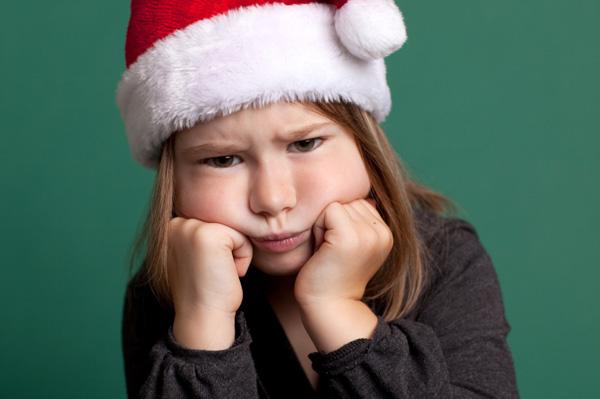 Rude girl at Christmas
