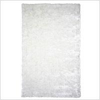 Daring white rug