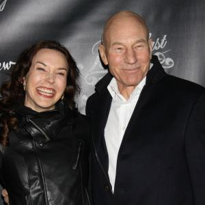 Patrick Stewart married, wedding officiated by