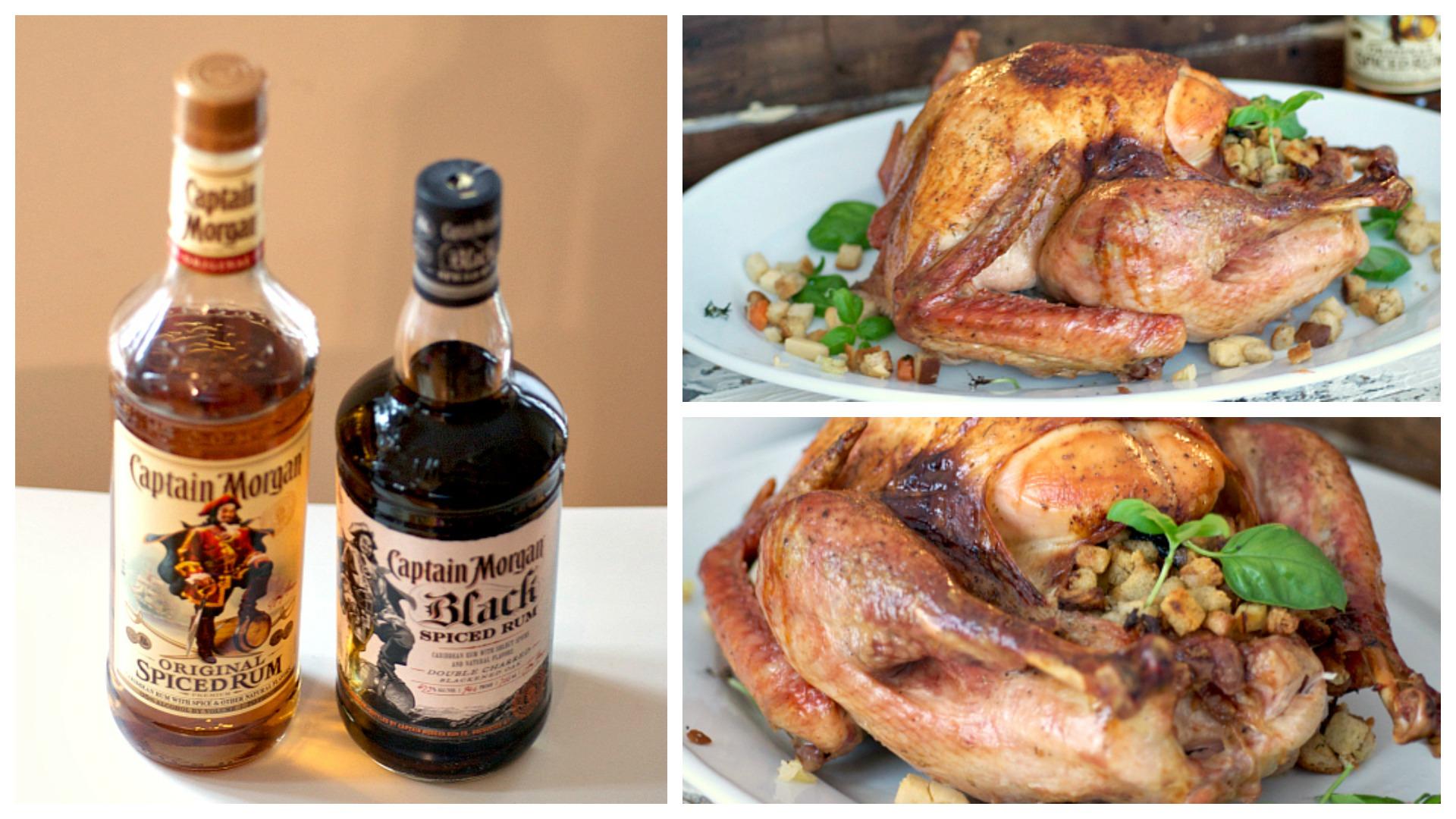 Rum glazed turkey recipe