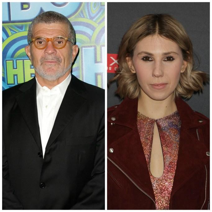Celebrities with famous fathers: Zosia Mamet & David Mamet
