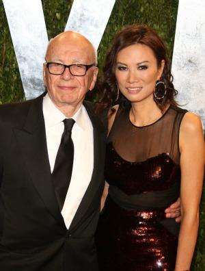 Rupert and Wendi Murdoch