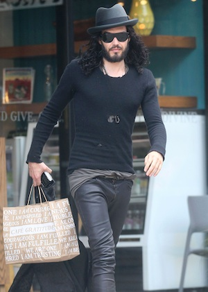 Russell Brand fights felony charge