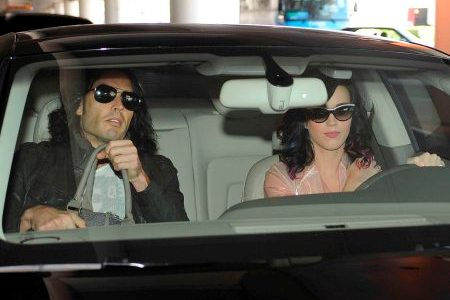 Russell Brand and Katy Perry at LAX
