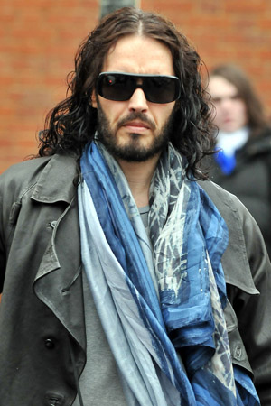Russell Brand hopes the new year gets happier