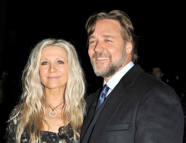 Russell Crowe Danielle Spencer
