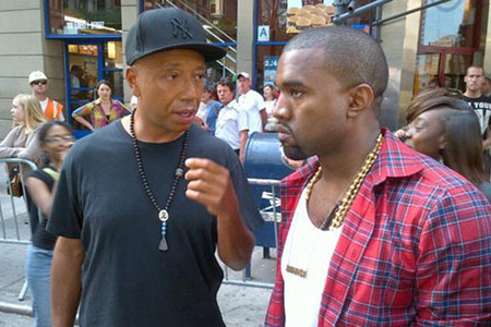 Russell Simmons and Kanye West Occupy Wall Street