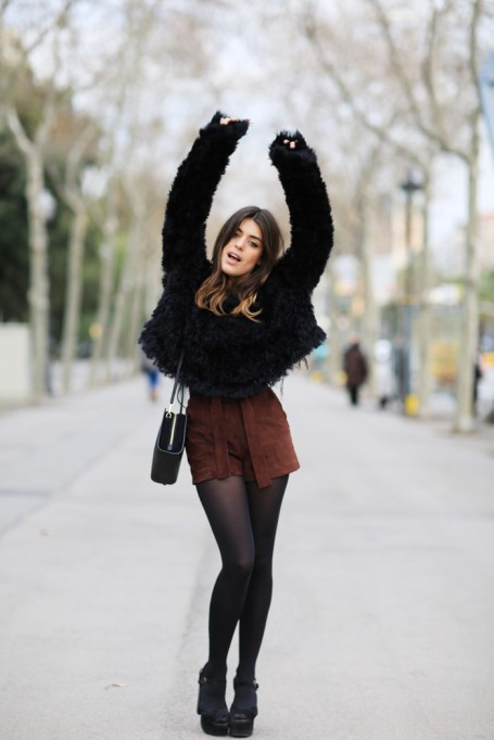 Bloggers Show You How to Wear Shorts for Fall : Dulceida