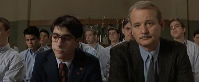 Jason Schwartzman and his frenemy Bill Murray in Rushmore