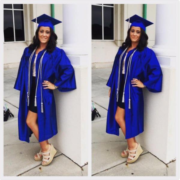 Jenelle Evans college graduation