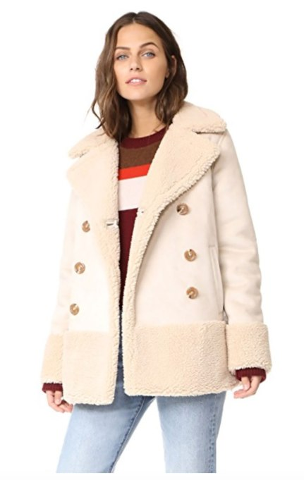 Perfect to Wear Shearling This Season | Mother shearling