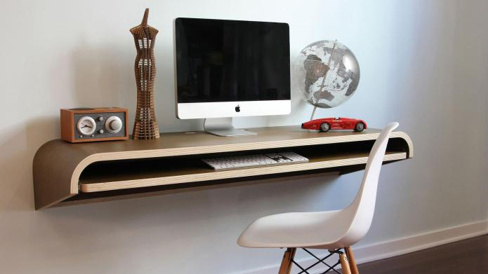 Why wall-mounted desks are perfect for