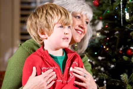 Involve grandparents in holiday celebrations