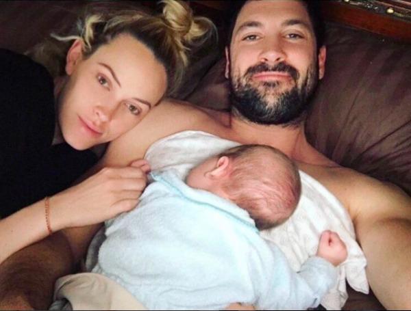 Celebrities' first Father's Day - Maksim Chmerkovskiy
