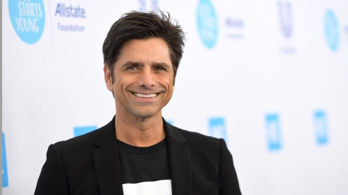John Stamos Introduces Newborn Son to