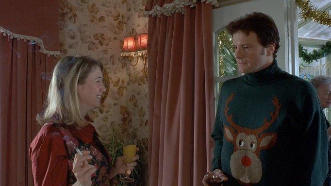 Colin Firth, Renee Zellweger, Hugh Grant in Bridget Jones' Diary