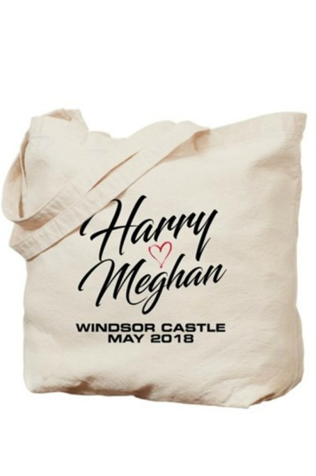 Royal Wedding Tote Bag