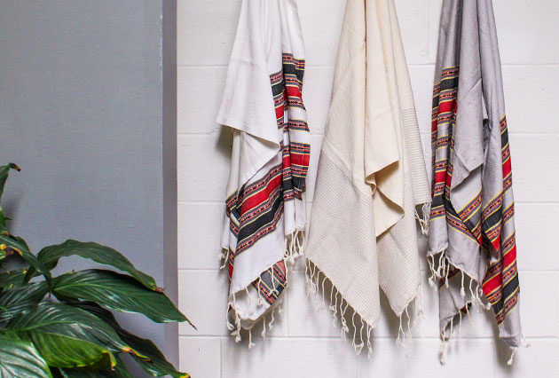 These Chic Turkish Towels Are a