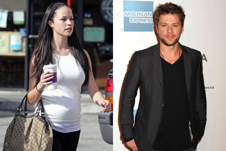 Ryan Phillippe and Alexis Knapp