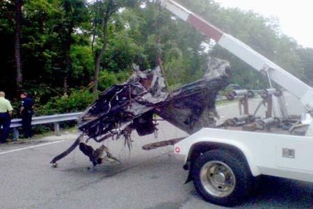 Ryan Dunn car crash