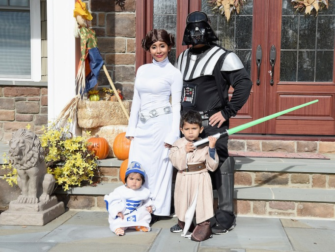 "Nicole ""Snooki"" Polizzi and Jionni Lavelle as Star Wars"