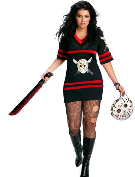 Sexy Halloween Costumes: Miss Voorhees