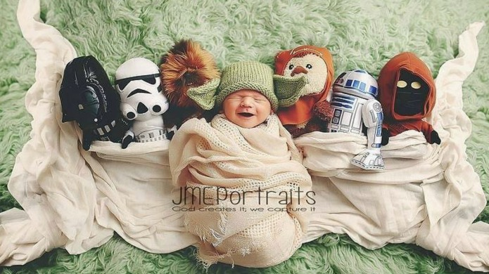 13 adorable baby portraits inspired by