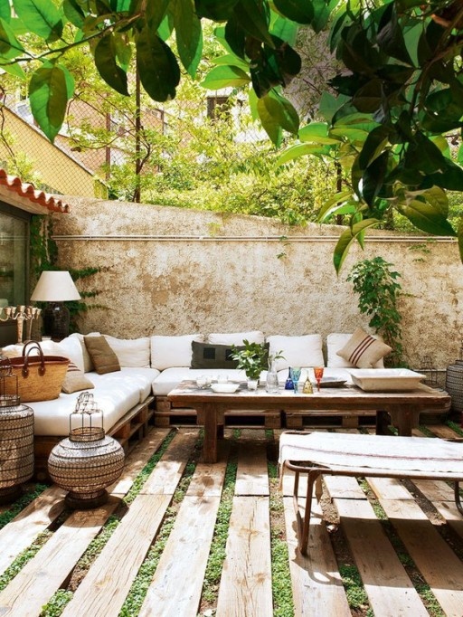 Quintessentially boho space