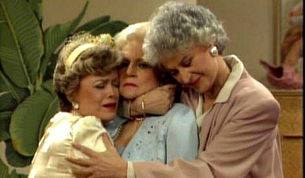 Blanche, Rose and Dorothy on Golden Girls
