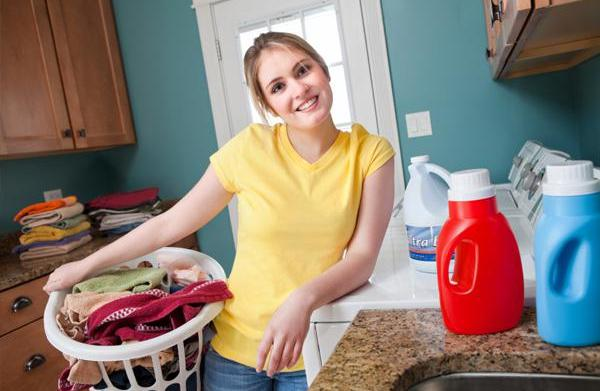How to make over your laundry