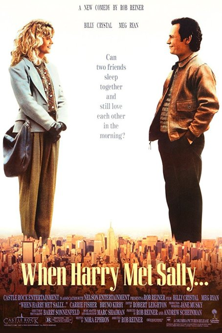 when harry met sally movie poster