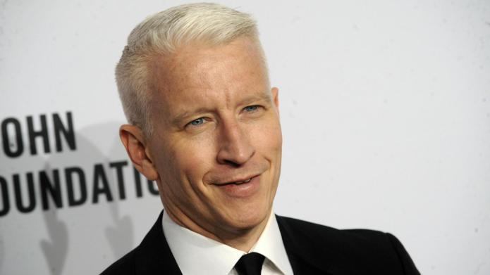 Anderson Cooper gets punk'd, gets the