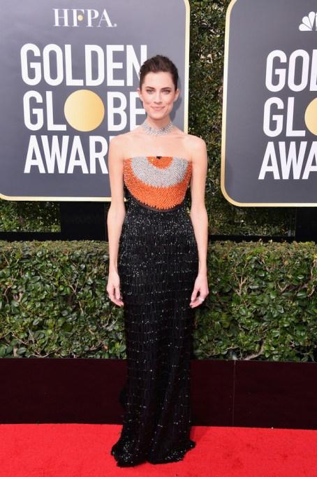 Best Golden Globes fashion 2018: Allison Williams