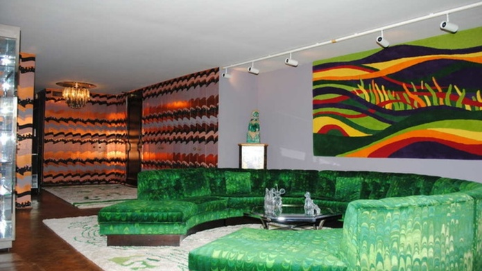 Chicago penthouse is like a groovy